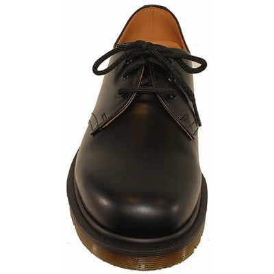 Dr Martens 3 Eyelet Shoes - 1461C - Black