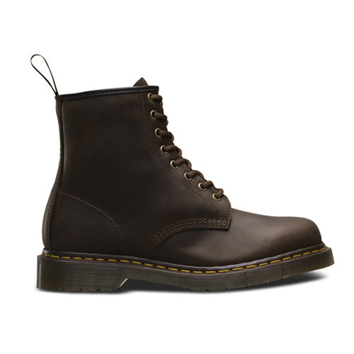 Dr Martens 3 Eye Boots - 1460 - Brown Waxy