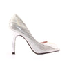 Kate Appleby Peep Toe Heels - Everglade - Silver