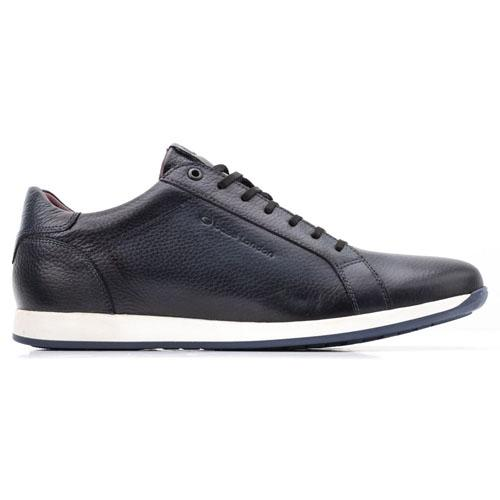 Base London Trainers - Flare - Navy