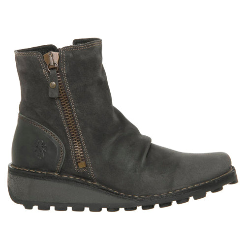 Fly London Ankle Boot - Mon - Grey