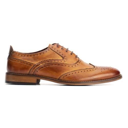 Base London Brogues  - Focus - Tan