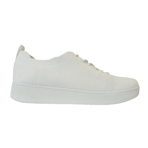 Fitflop Trainer - Rally Tonal Knit - White