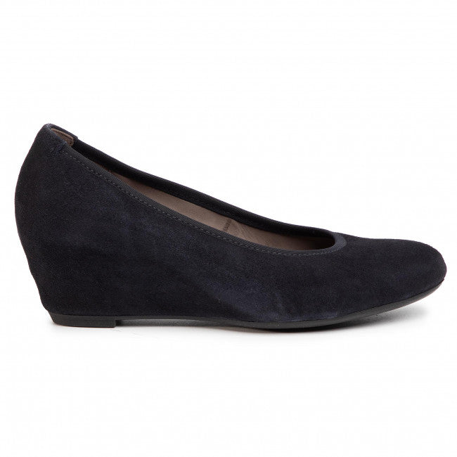 Gabor Wedge Shoe - 05.360 - Navy