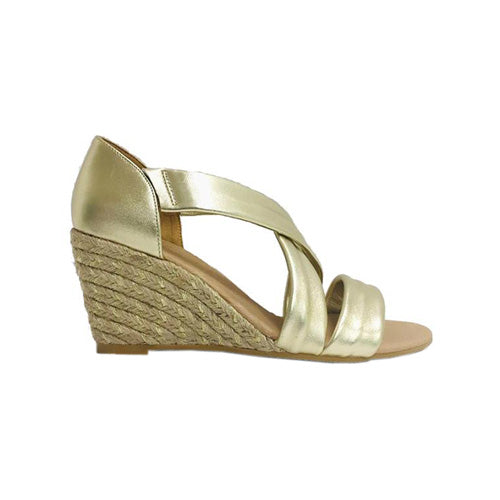 Kate Appleby Wedge Sandal - Millbank - Gold