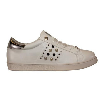 Tommy Bowe Ladies Trainers - Higgins - White
