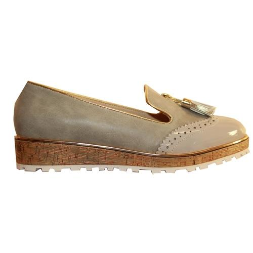 Lunar Loafers  - Michaela - Grey