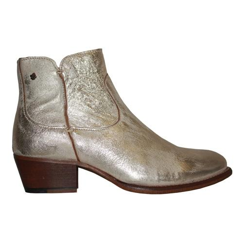 Amy Huberman Ankle Boots - Here Mr Jordan - Gold