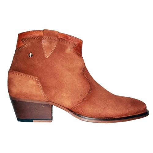 Amy Huberman Ankle Boots - The More the Mr - Tan