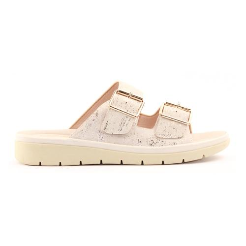 Zanni Ladies Wedge Sandal - Karaj - Nude