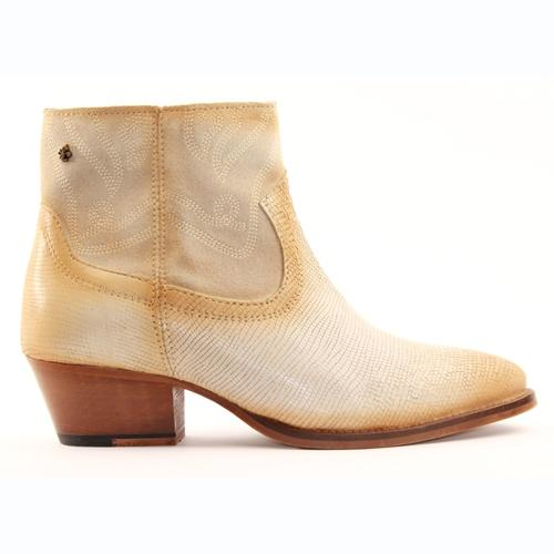Amy Huberman Ankle Boots- Mr & Mrs Smith - White