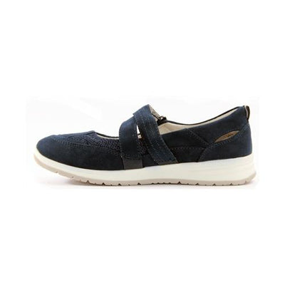 Jana  Flat Shoes - 24663-24 - Navy