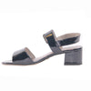 Tamaris Block Heel Sandals - 28211-22 - Navy Patent