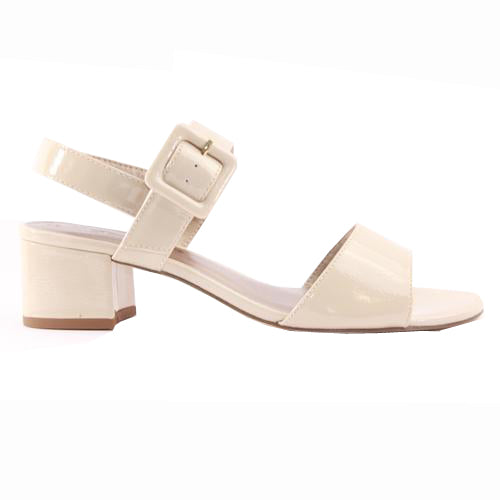 Tamaris Block Heel Sandals - 28211-22 - Nude