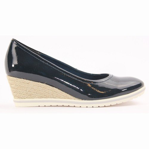 Tamaris Wedge Shoe - 22441 - Navy