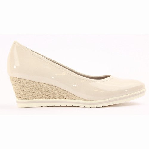 Tamaris Wedge Shoes - 22441 - Nude