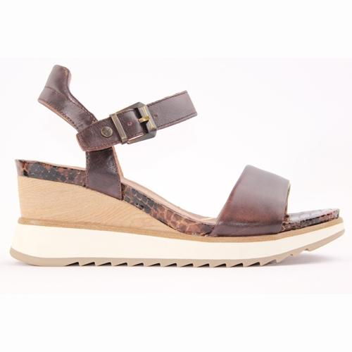 Tamaris Wedge Sandal - 28015-24 - Brown