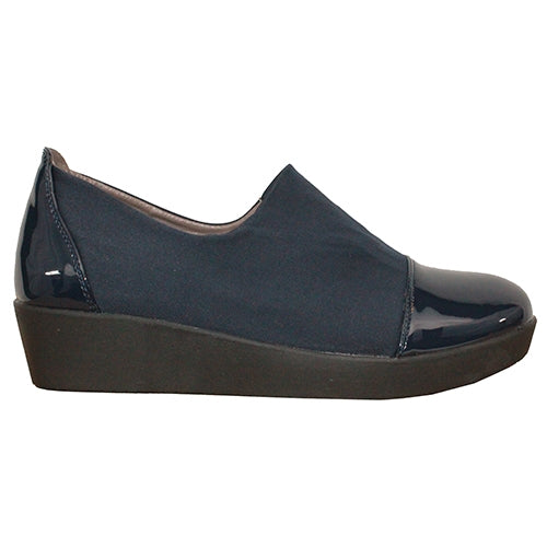 Zanni  Wedge Shoes - Milan - Navy