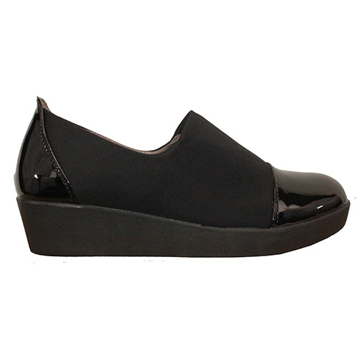 Zanni  Wedge Shoes - Milan - Black