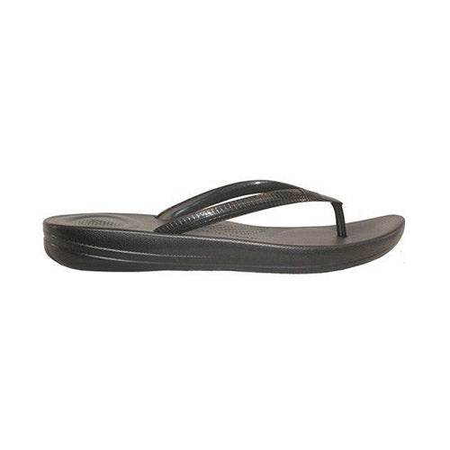 Fiflop Toe Post Sandal - Iqushion - Black