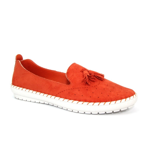 Lunar Flat Shoe - Crete - Orange