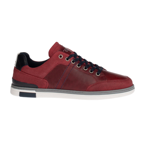 Tommy Bowe Mens Trainers - Keenan - Red
