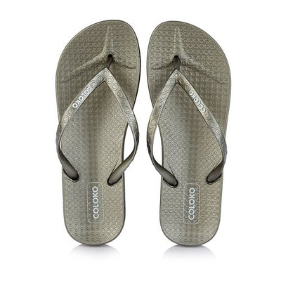 Coloko Ladies Flat Sandal - Lantana - Pewter