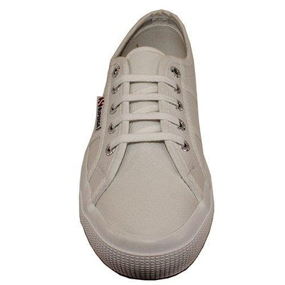 Superga Trainers - Classic Leather - White