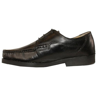 Catesby Wide Mocc Tie Shoe - LM8901 - Black