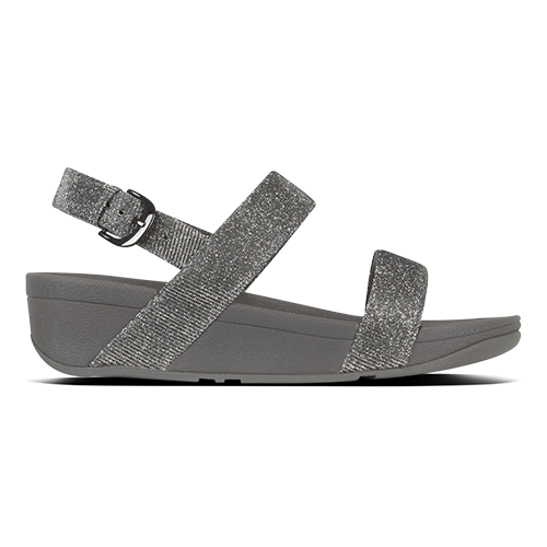 Fitflop Strapped Sandal - Lottie - Pewter