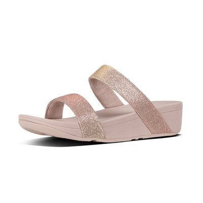 Fitflop Sandal - Lottie Slide - Rose Gold