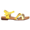 Lunar Flat Sandal - Louisa - Yellow Multi