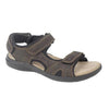 Roamers  Velcro Sports Sandals - M990B - Brown