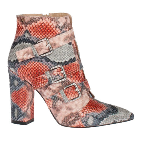 Una Healy Ladies Ankle Boot - Midnight Rider - Pink
