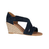 Kate Appleby Wedge Sandal - Millbank - Navy