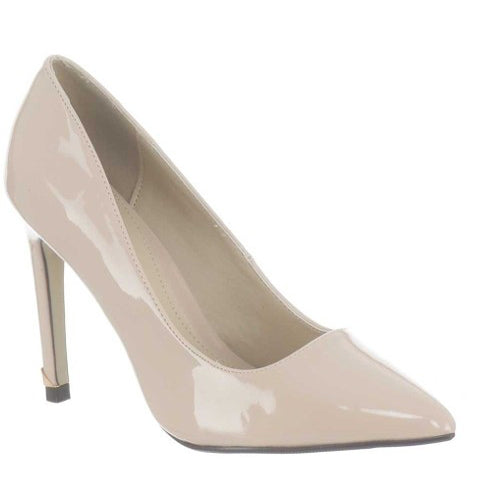 Millie & Co. Dressy Court Shoe - Carla - Nude Patent