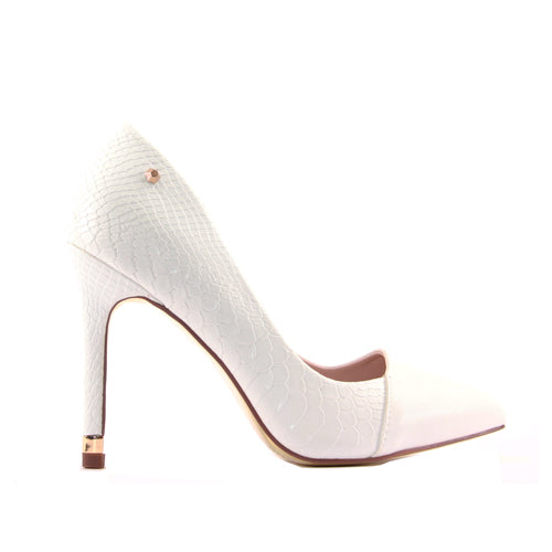 Kate Appleby High Heel - Moraine - White