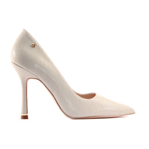Amy Huberman Dressy Heels- My Man Godfrey - Ice White