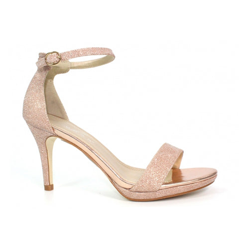 Lunar Dressy High Heel - Perdita - Rose Gold