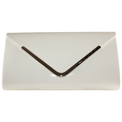 Lunar Clutch Bag - Petal/ Powell - White