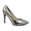 Lunar Dressy High Heel - Powell - Pewter Patent