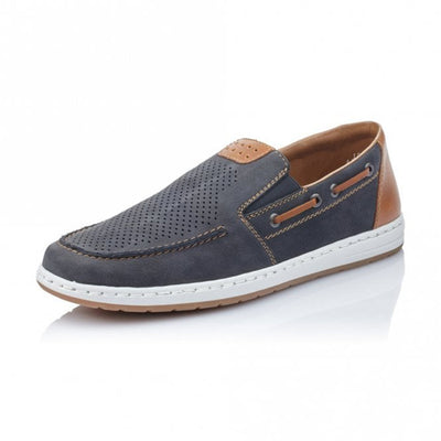 Rieker Casual Shoes - 18266-14 - Navy
