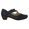 Rieker Low Heel Shoes - 41794-14 - Navy