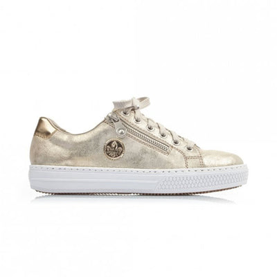 Rieker  Trainers- L59L8-62 - Gold