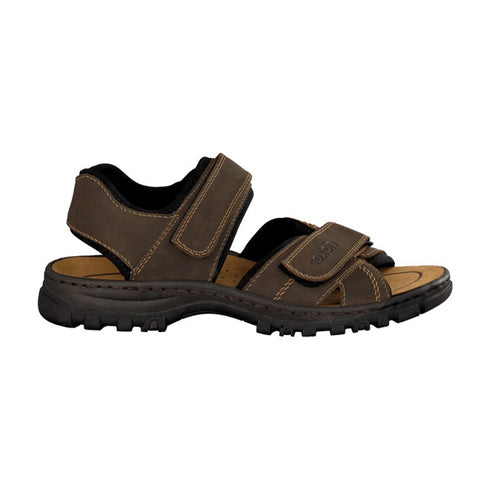Rieker Mans Sandal - 25051-27 - Brown