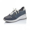 Rieker  Wedge Trainers - N4326-14 - Navy