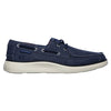 Skechers Mens Boat Shoe - 65908  -Navy