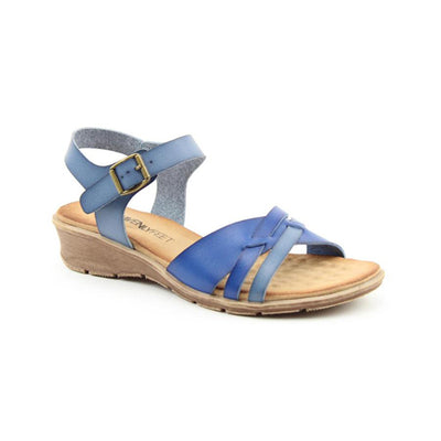 Heavenly Feet Sandal - Iris - Blue