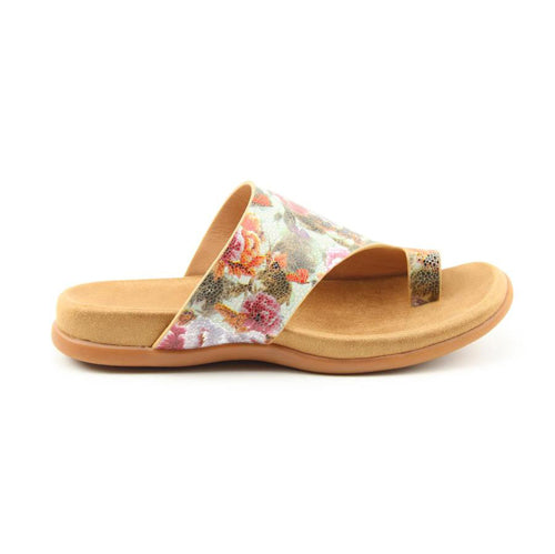 Heavenly Feet Slide - Beverley - Mint Floral