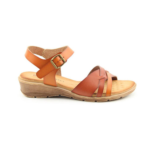 Heavenly Feet Sandal - Iris - Tan